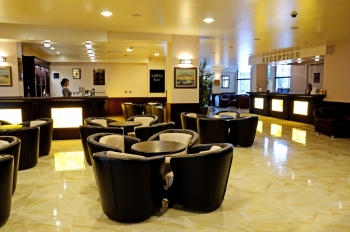 Hotel Baikal Lobby Bar - a place to meet friends